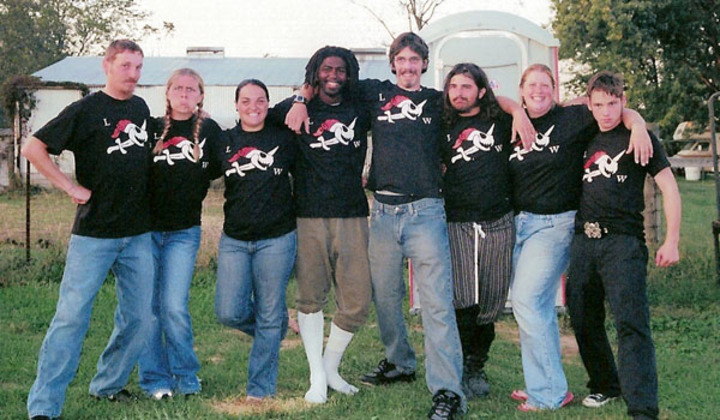 Pirate Crew Of The Lost Weasel   2005 Ohio Ren Festival T-Shirt Photo