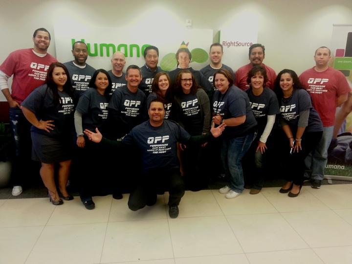 Performing Our Best When It Matters The Most! T-Shirt Photo