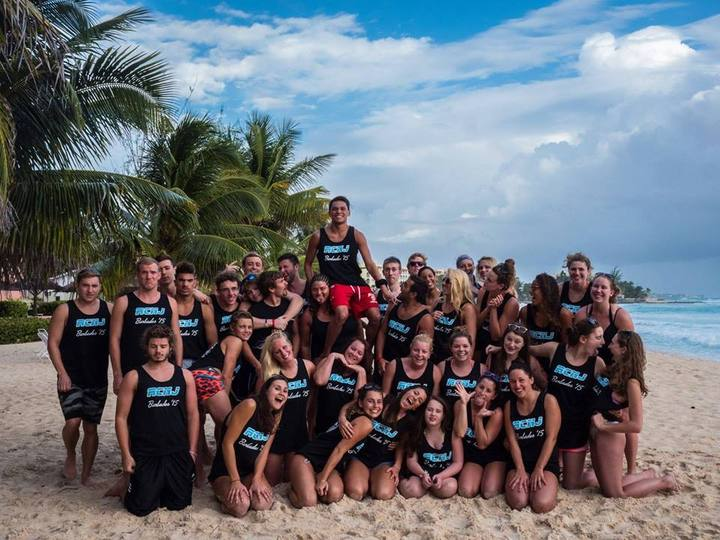 Rcnj Swim Takes On Barbados T-Shirt Photo