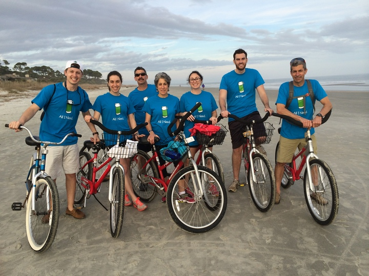 Christmas Bike Ride T-Shirt Photo