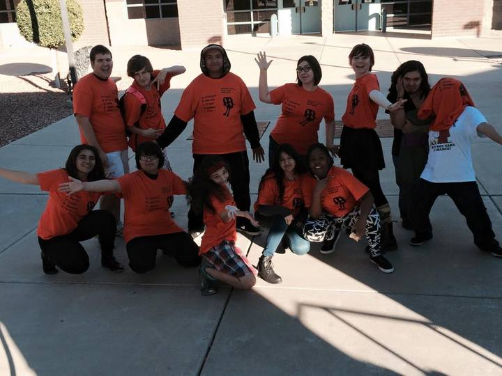 Mountain Pointe High School Anime Club! T-Shirt Photo