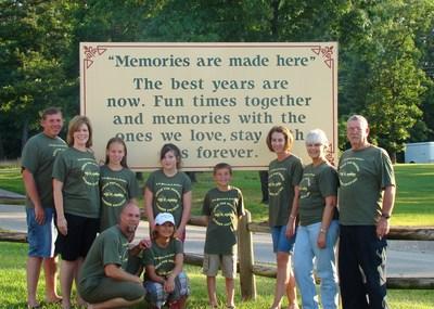 """Circle The Wagons"" 4th Of July Reunion T-Shirt Photo"