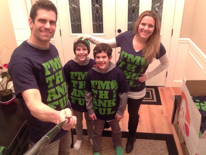 """I'm Thankful"" We Are Going To The Big Game Again! T-Shirt Photo"