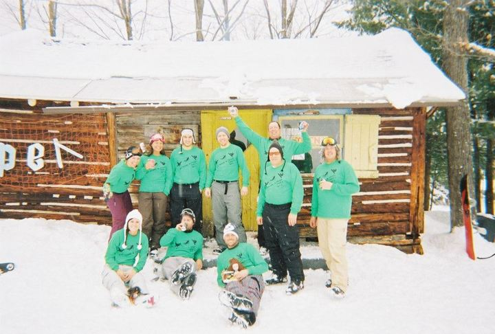 Biff, Bomb, & Crash Ski Trip T-Shirt Photo