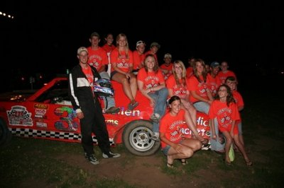 Luellen Racing Pit Crew And Cheering Section T-Shirt Photo