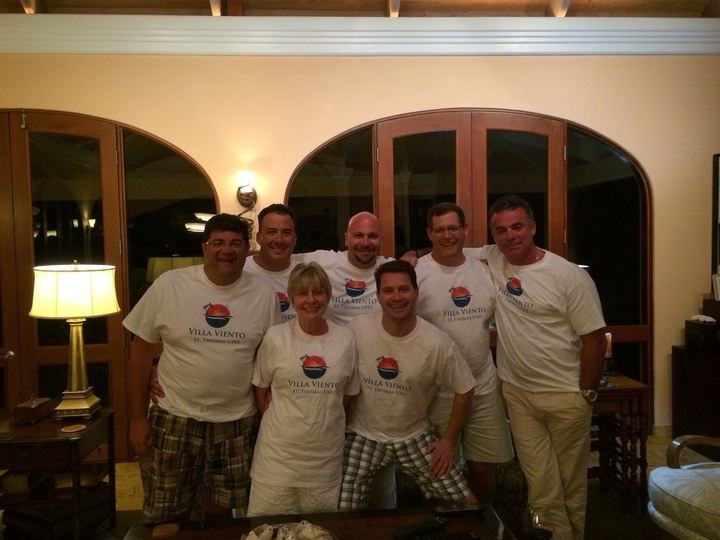 Living The Dream At Villa Viento T-Shirt Photo