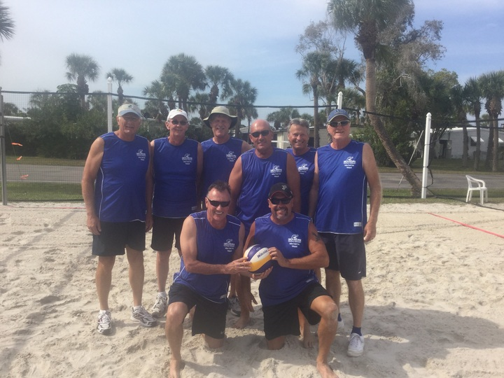 Indian Creek Gators (Lee County Senior Volleyball League) T-Shirt Photo