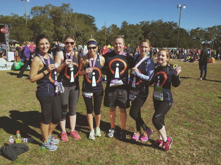 Post Half Marathon Company Photo T-Shirt Photo