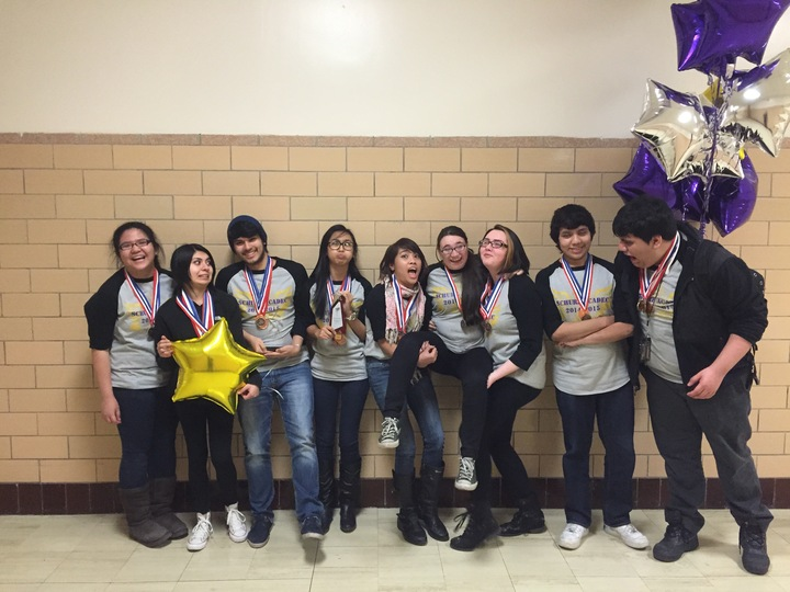 Schurz Hs Academic Decathlon Team T-Shirt Photo