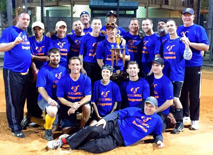 Softball Tournament Champions T-Shirt Photo