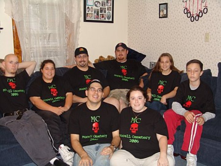 The Morell Cemetery Group 2006 T-Shirt Photo