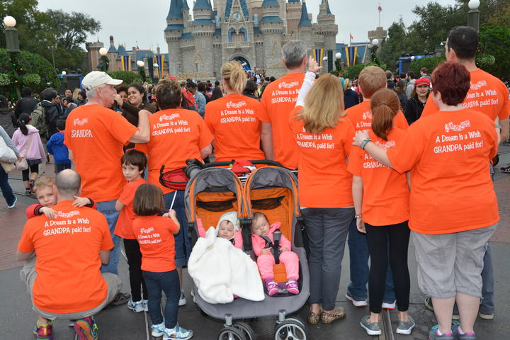 A Dream Is A Wish Grandpa Paid For! T-Shirt Photo