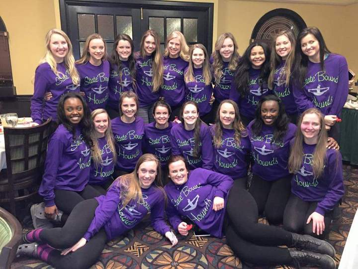 East Cheerleaders Going To State! T-Shirt Photo
