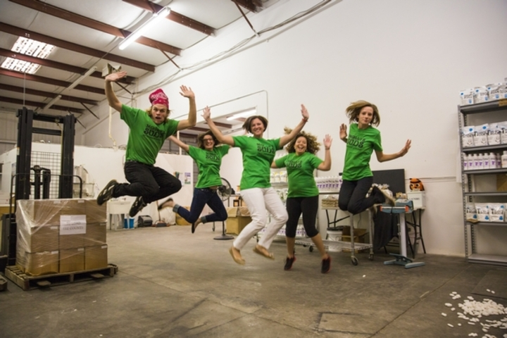 Molly's Suds Making The Jump T-Shirt Photo