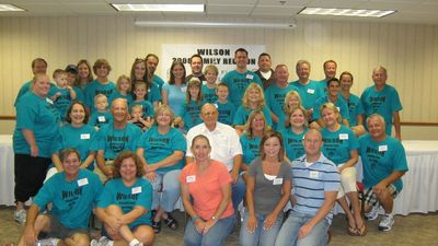Wilson Family Reunion 2008 T-Shirt Photo