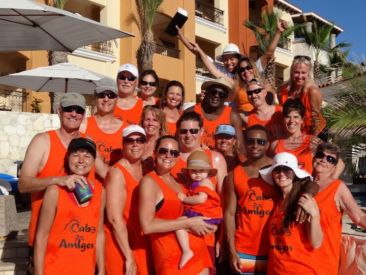 Cabo Amigos Loving Our Mexican Time Together! T-Shirt Photo