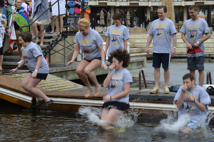 The Gold Crusaders Take On The Virginia Polar Dip T-Shirt Photo