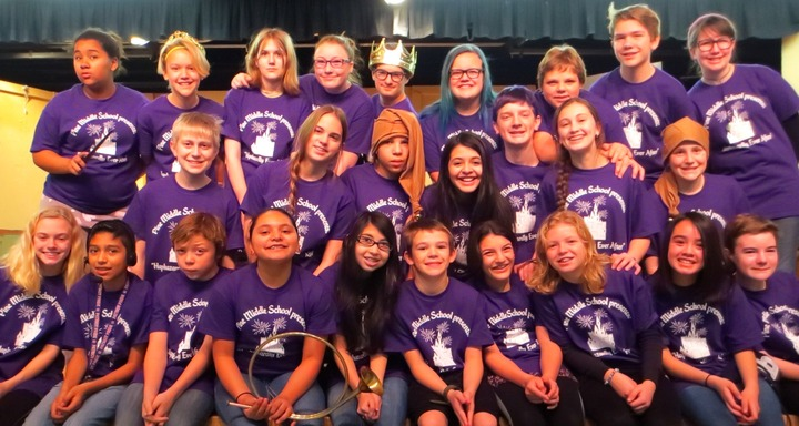 Thespians In Training T-Shirt Photo