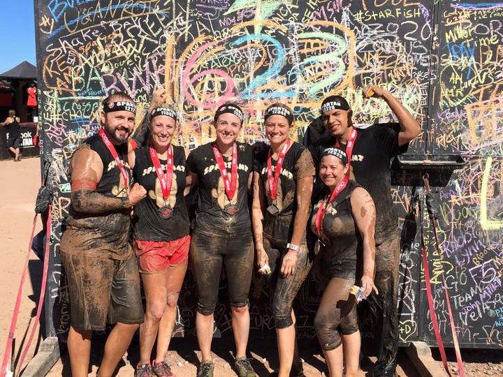 Spartan Race Finishers!!! T-Shirt Photo