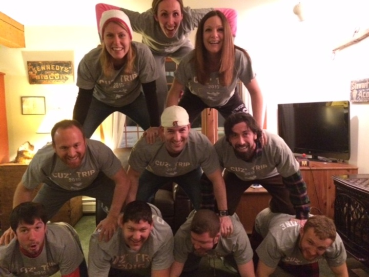 Pyramid Of Cousins T-Shirt Photo