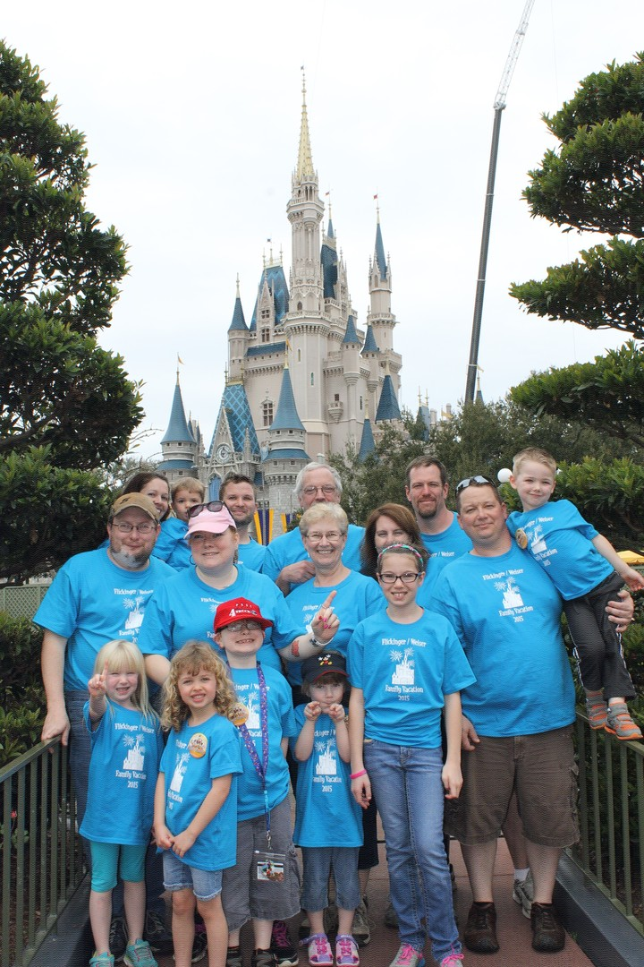 Family Disney Vacation T-Shirt Photo
