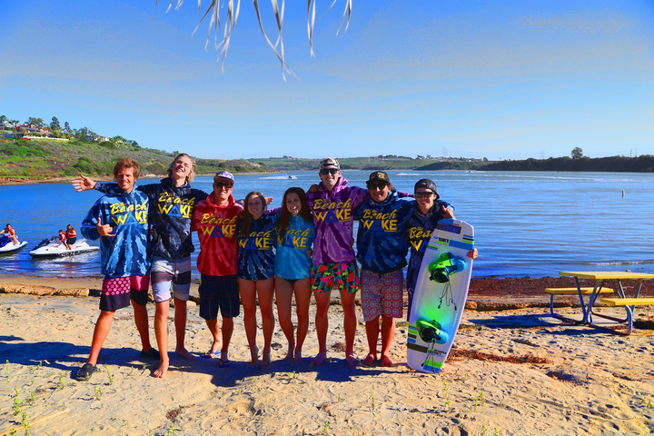 Winter Wakeboarding In Southern California T-Shirt Photo