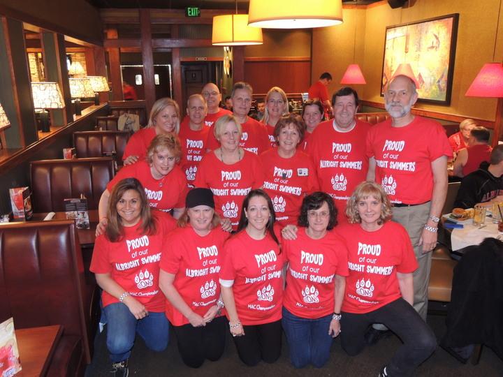 Albright Proud Swim Parents T-Shirt Photo