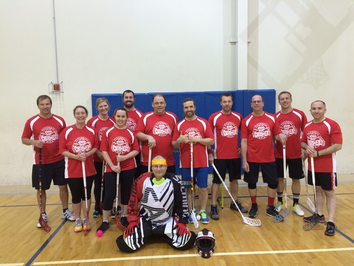 Crushers Floorball Team 2015 T-Shirt Photo