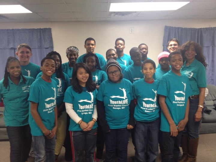 First Baptist Of Savage Youth Life Students T-Shirt Photo