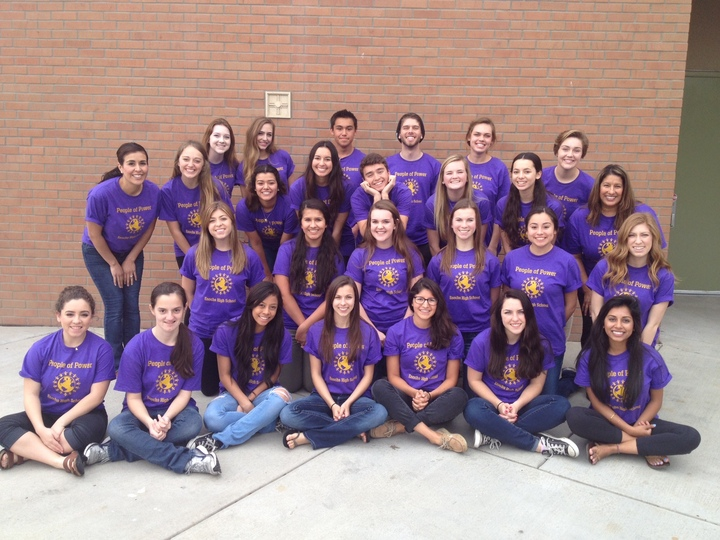 People Of Power Club T-Shirt Photo