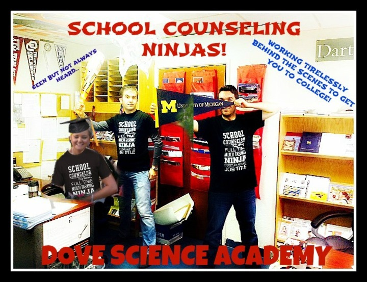 School Counseling Ninja's T-Shirt Photo