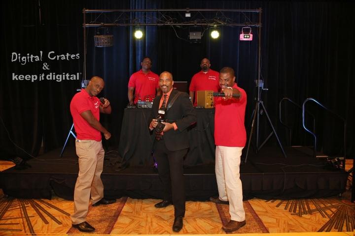 Digital Crates Entertainment Specialists  T-Shirt Photo
