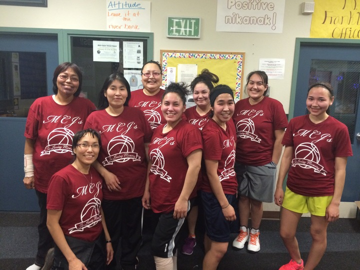 Women's Mcj's Bball 2015 Team! T-Shirt Photo