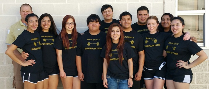 Brackett Powerlifting 2015 T-Shirt Photo