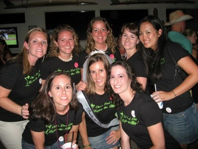 Dewey Beach Bachelorettes T-Shirt Photo