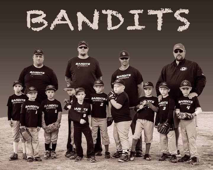 Bandits Baseball Team T-Shirt Photo