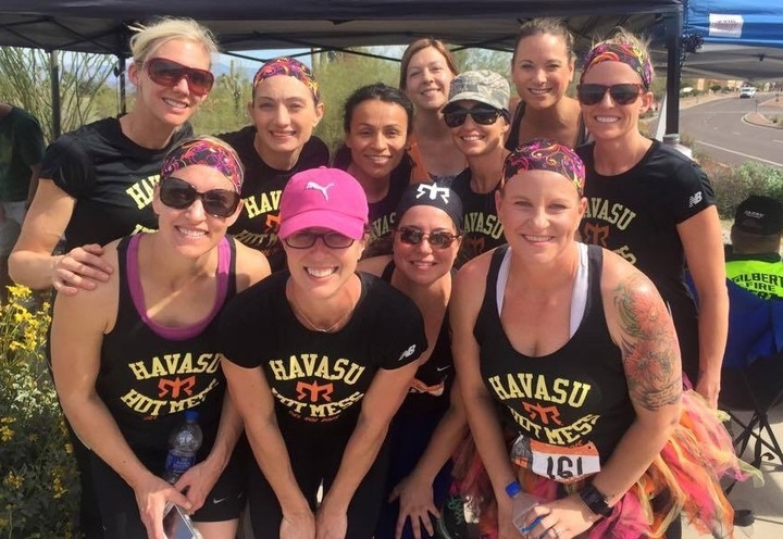 Havasu Hot Mess Ragnar Del Dol 2015 T-Shirt Photo
