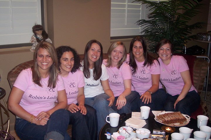 Robin And Her Ladies T-Shirt Photo