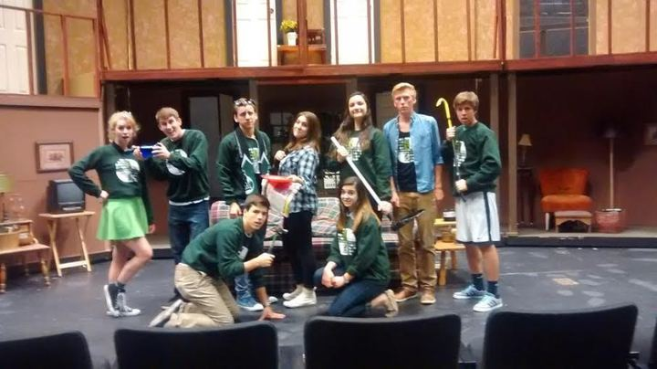 "Bvsw Repertory Theatre's Production Of ""Noises Off"" T-Shirt Photo"