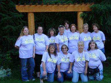 2008 Angel Mom Retreat T-Shirt Photo