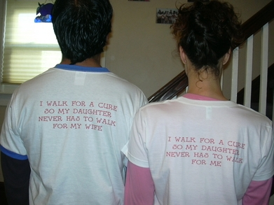Making Strides Against Breast Cancer Walk T-Shirt Photo