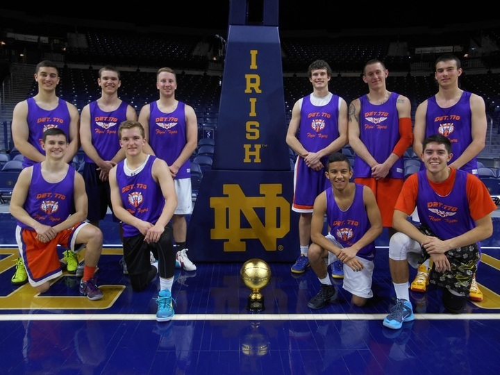 Flyin' Tigers At Notre Dame Basketball Tournament T-Shirt Photo