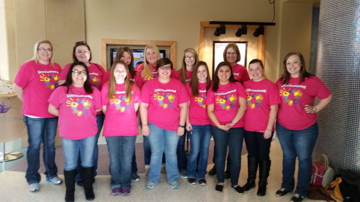 Mn West Ctc Child Development Ladies T-Shirt Photo