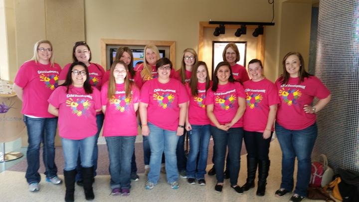 Mn West Ctc Child Development Ladies T-Shirt Photo