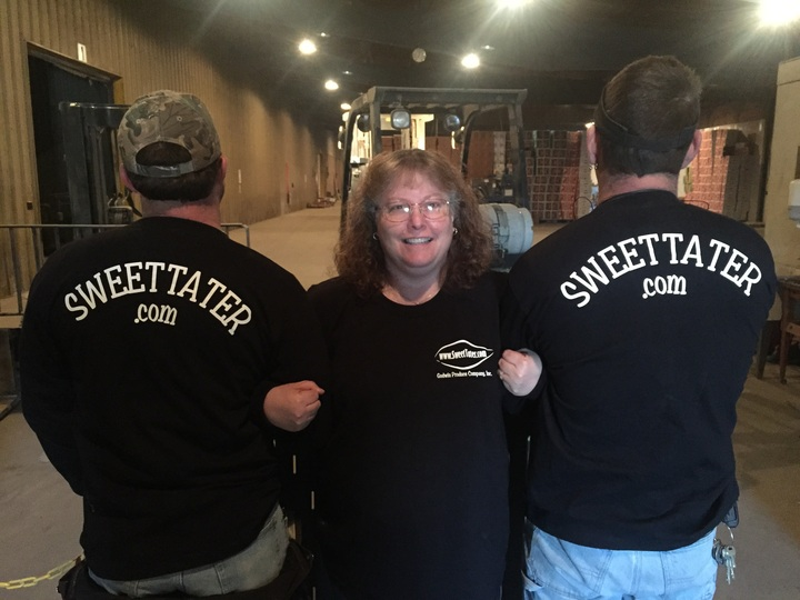 Surrounded By Taters T-Shirt Photo