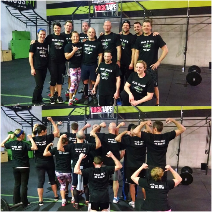 Team Black 5:30 A.M. Contingent T-Shirt Photo