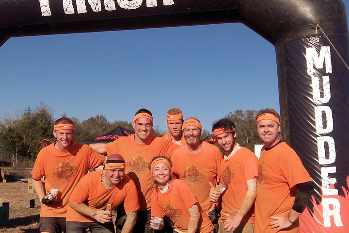 Jj's Mudmasters   Gulf Coast Tough Mudder (After) T-Shirt Photo