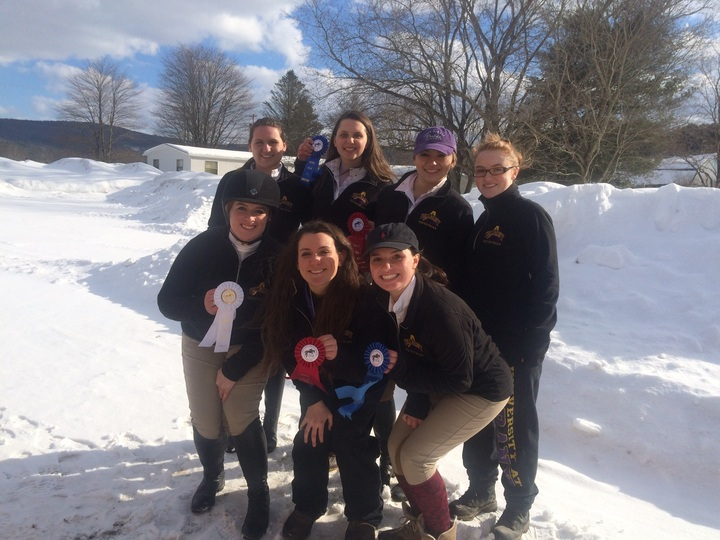 U Albany Equestrian Team  T-Shirt Photo