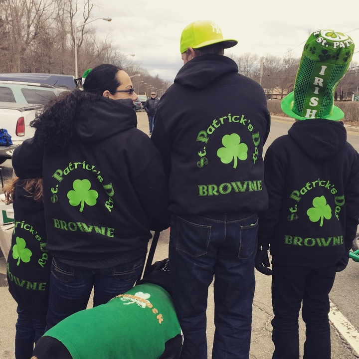 St. Patty's Day With The Browne's T-Shirt Photo
