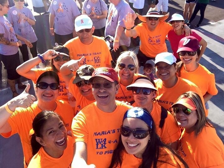Maria's Team At The Ms Walk  T-Shirt Photo